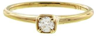 N+A New York Single Diamond Ring