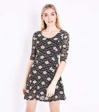 ee2c210447 New Look Skater Dress Floral - ShopStyle UK