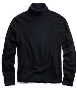 Todd Snyder Cashmere Turtleneck in Black