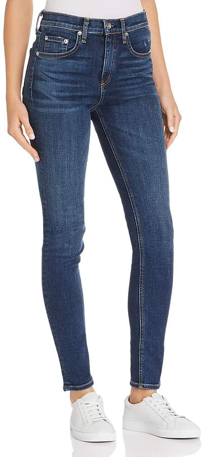 High-Rise Skinny Jeans in Elton