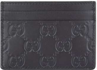 Gucci Logo Embossed Card Holder