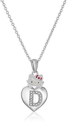 ee241c983 Hello Kitty Girls' Crystal and Enamel