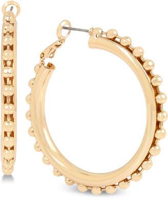 BCBGeneration Bcbg Ball Chain Hoop Earrings