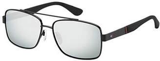 Tommy Hilfiger Polo Pique Concept 59mm Square Sunglasses