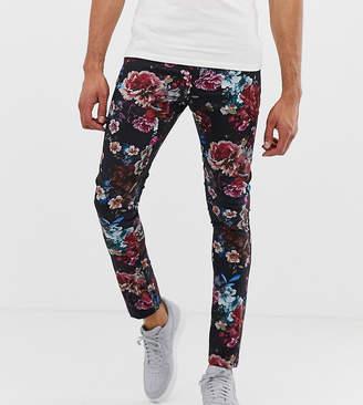 Asos Design DESIGN Tall super skinny pants in floral print