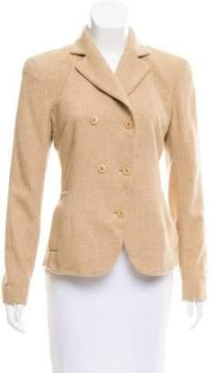 Donna Karan Wool-Blend Structured Blazer
