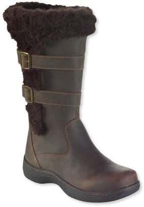 L.L. Bean L.L.Bean Insulated Nordic Casual Leather Boots, Waterproof