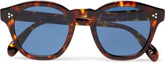 Oliver Peoples Boudreau L.A D-Frame Tortoiseshell Acetate Sunglasses