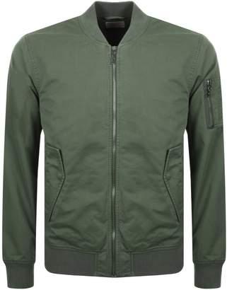 Nudie Jeans Alexander Bomber Jacket Green