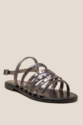 Sam Edelman Circus Bev Multi Strap Sandal - Pewter