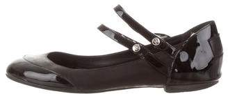 Chanel Leather Round-Toe Flats