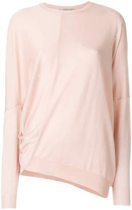 Stella McCartney draped asymmetric sweater