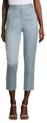 Donna Karan Slim-Fit Cropped Ankle Pants