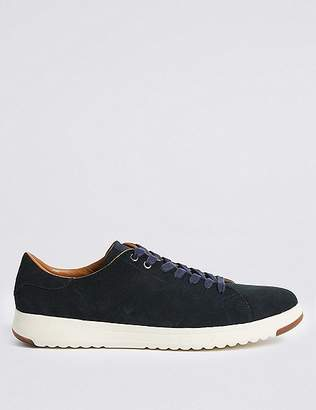 Marks and Spencer Suede Nimbus Lace-up Trainers