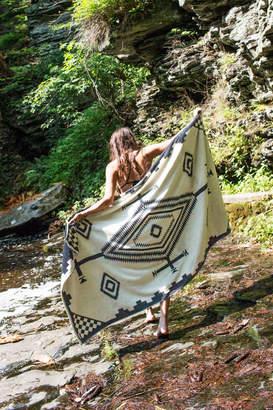 Pendleton Los Ojos Oversized Jacquard Beach Towel