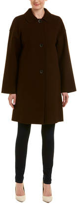 Lafayette 148 New York Vita Wool-Blend Coat