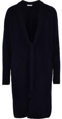 Vince Cable-Knit Wool And Cashmere-Blend Cardigan