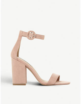 e6a494f8b61 Steve Madden Friday block heel suede sandals