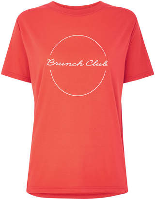 Whistles Brunch Club Logo Tshirt