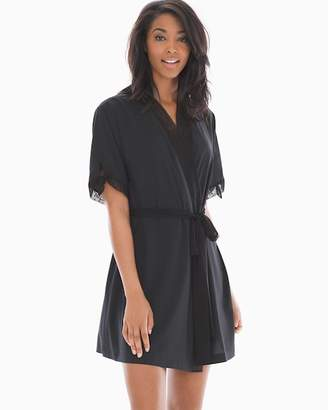 Dot Wrap Robe