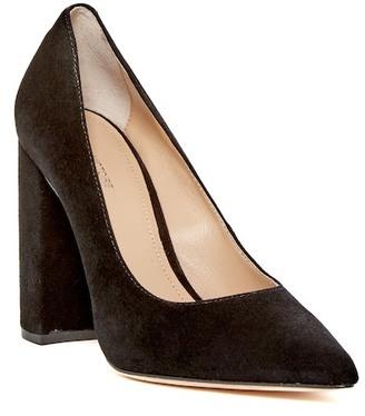 Pour La Victoire Celina Block Heel Pump $275 thestylecure.com