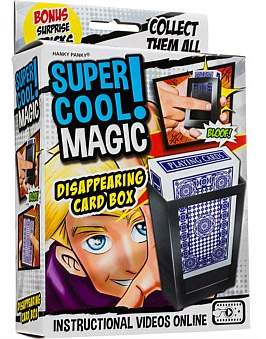 Hanky Panky Magic Dissapearing Card Box