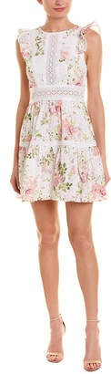 Ever New Floral A-Line Dress