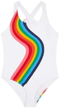 Milly Mini Rainbow Cross Back Swimsuit