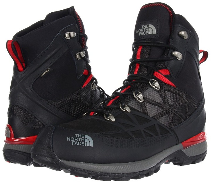 The North Face Iceflare Tall GTX (TNF Black/TNF Red) - Footwear