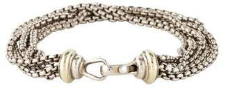 David Yurman Multistrand Box Chain Bracelet