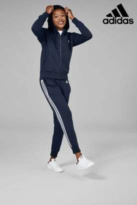 Next Womens adidas Ink Essential 3 Stripe Hoody