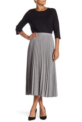 Catherine Malandrino Pleated Midi Skirt