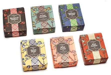 Seda France Paper-Wrapped Bar Soaps