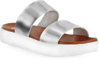 Mia Silver-Tone Saige Band Sandals