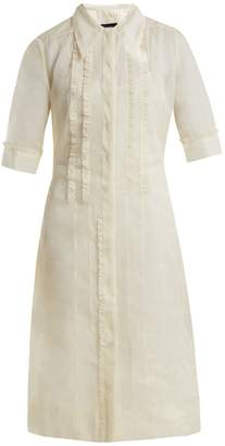Joseph Molly cotton-organza ruffle dress