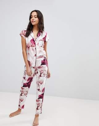 Ted Baker Porcelain Rose Printed Pajama Pant