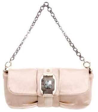 Lanvin Embellished Satin Handle Bag