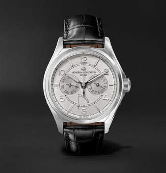 Vacheron Constantin Fiftysix Day-Date Automatic 40mm Stainless Steel And Alligator Watch