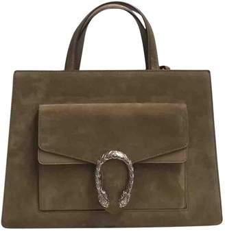 Gucci Dionysus Beige Suede Handbag