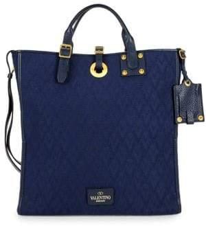 Valentino Jacquard Shoulder Bag