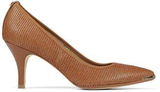 Donald J Pliner TION, Perforated Lame Leather Pump