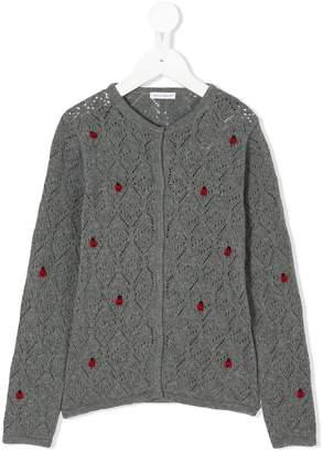 Dolce & Gabbana ladybugs cardigan