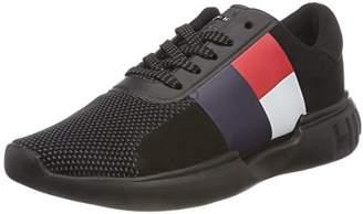 be8f06a42 Tommy Hilfiger Tommy Women s Lightweight Wmn Sneaker Low-Top (Black 990)