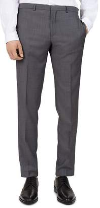 The Kooples Flawless Slim Fit Wool Trousers