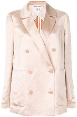 Diane von Furstenberg double-breasted fitted blazer