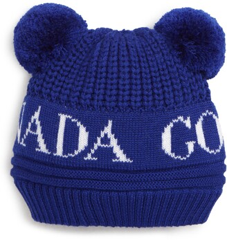 Canada Goose Double Pompom Hat
