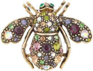 Joan Rivers Classics Collection Joan Rivers Vintage Inspired Jeweled Garden Bee Pin