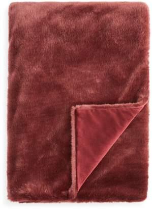 Hudson Park Collection Jewel Faux Fur Throw - 100% Exclusive