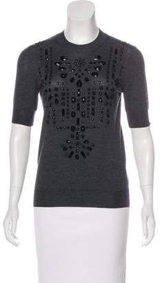 Lanvin Wool Embellished Top w/ Tags