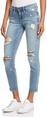 Blank NYC Blanknyc Distressed Cropped Skinny Jeans in Losing It